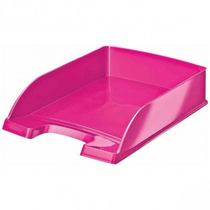 LEITZ Briefablage 5226 A4 WOW Plus pink metallic