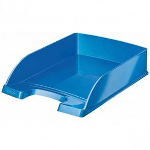 LEITZ Briefablage 5226 A4 WOW Plus blau metallic