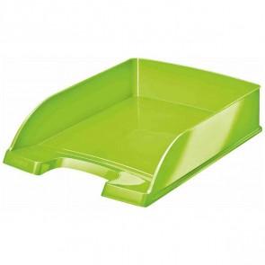 LEITZ Briefablage 5226 A4 WOW Plus grün metallic