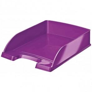 LEITZ Briefablage 5226 A4 WOW Plus violett metallic