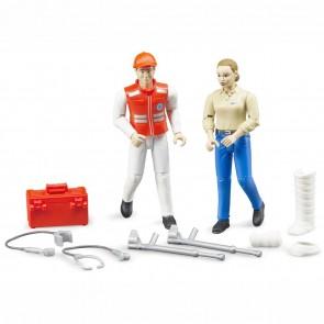 BRUDER 62710 Figurenset Rettungsdienst