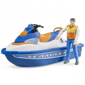 BRUDER 63150 Personal Water Craft mit Fahrer