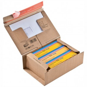 COLOMPAC Pacbox Plus S A5+ 230 x 166 x 90 mm braun