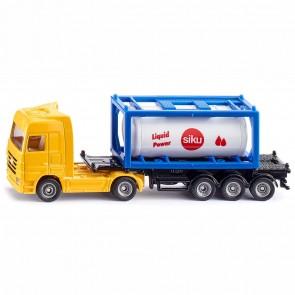 SIKU 1795 LKW mit Tankcontainer 1:87