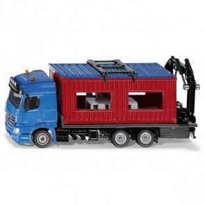 SIKU 3556 LKW mit Baucontainer 1:50