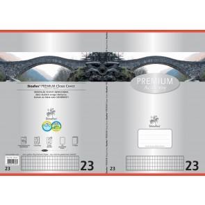 Schulheft  A4 16Bl 90g Lin23 Premium rautiert