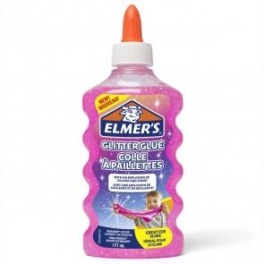 ELMERS Schulkleber 177ml Glitzerkleber pink