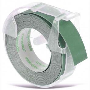 DYMO Prägeband Plastik matt grün 9mm x 3m