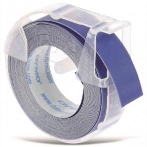 DYMO Prägeband Plastik matt blau 9mm x 3m