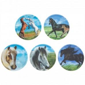 ERGOBAG Klettie Set matt Pferde 5 Stück