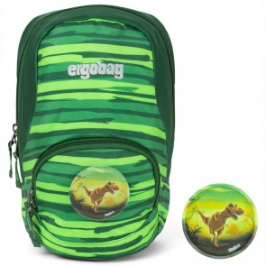 ERGOBAG Kinderrucksack ease small Dschungel