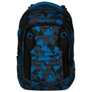 SATCH Schulrucksack match facelift Blue Triangle
