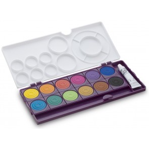 LAMY Deckfarbkasten aquaplus 12 Farben violett