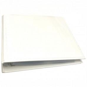 VELOFLEX Ringbuch 4166 weiß für CD DVD BD incl. 10 Hüllen