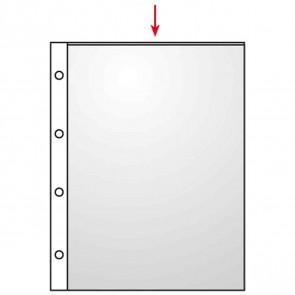 VELOFLEX Prospekthülle A4 4345 PP glasklar glänzend 0,75mm 10 Stück
