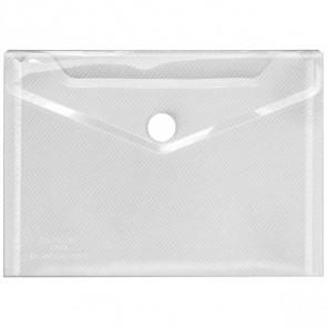 VELOFLEX Dokumententasche 4560100 A6 mit Klettverschluss transparent