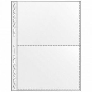 VELOFLEX Sammelhülle 5335 A4 auf 2 x A5 transparent 10 Stück