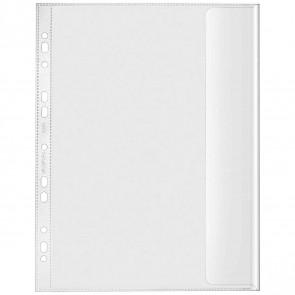 VELOFLEX Dokumentenhülle mit Klappe 5340 A4 transparent 130mµ 10 Stück