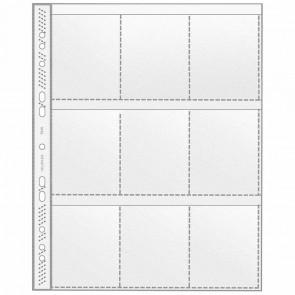 VELOFLEX Sammelhülle 5349 A4 auf 9 Taschen transparent 10 Stück
