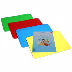 LÄUFER Hobbyplatte / Knetunterlage 30x42 cm ca. A3 farbig sortiert