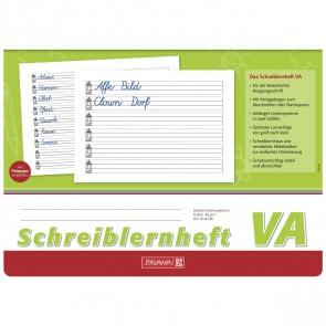BRUNNEN Schreiblernheft 44005 A4 quer 16 Blatt VA-Schrift