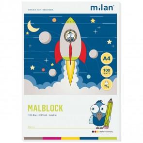 MILAN Malblock 566 A4 70g 100 Blatt