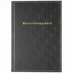 RIDO IDE Buchkalender Reservierungsbuch A4 Balacron 1T = 1S 2021 schwarz