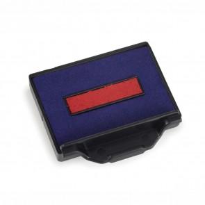 TRODAT Stempel Ersatzkissen 6/50 blau / rot 2 Stück