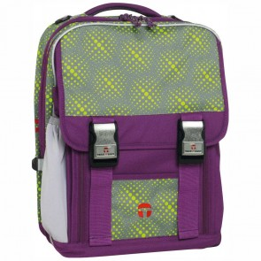 TAKE IT EASY Schulrucksack London GLOBE lila
