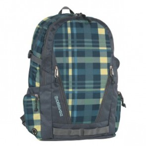 CEVEE Schulrucksack Backpack OXFORD VOGUE caro / blue