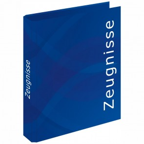 RNK Zeugnisringbuch A4 4-Ring BUSINESS BLUE