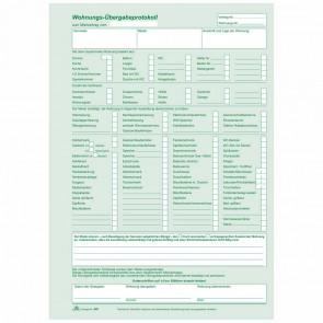 RNK Wohnungs-Übergabeprotokoll 980 A4 1x3 Blatt