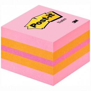 POST-IT Haftnotizwürfel Mini 2051-P Pink 51x51mm 400 Blatt