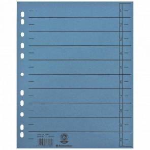 SOENNECKEN Trennblätter A4 1460 230g blau 100 Stück
