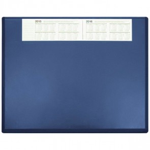 SOENNECKEN Schreibunterlage 3656 Kunststoff mit VSP 63x50cm blau