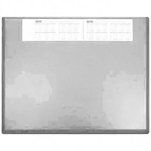 SOENNECKEN Schreibunterlage 3654 Kunststoff mit VSP 63x50cm lichtgrau