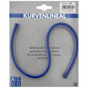 ALCO Kurvenlineal 30cm flexibel / biegsam