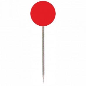 ALCO Markierungsnadel 612 rot Kopf 5mm, Länge 16mm 100 Stück