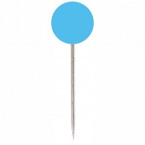 ALCO Markierungsnadel 614 hellblau Kopf 5mm, Länge 16mm 100 Stück