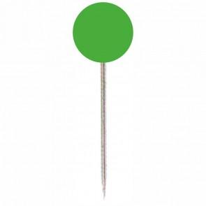 ALCO Markierungsnadel 617 hellgrün Kopf 5mm, Länge 16mm 100 Stück