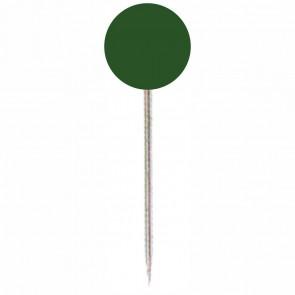 ALCO Markierungsnadel 618 dunkelgrün Kopf 5mm, Länge 16mm 100 Stück