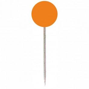 ALCO Markierungsnadel 619 orange Kopf 5mm, Länge 16mm 100 Stück