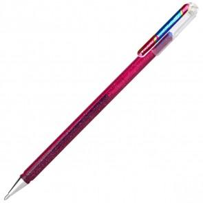 PENTEL Geltintenroller Glitter Dual Metallic 0,5mm pink + blau
