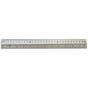 VALORO Alu / Kunststoff Lineal 30cm antirutschbeschichtet