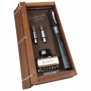 ONLINE Calligraphy Set Newood Black 1,4mm + Griffstück 0,8 + 1,8mm