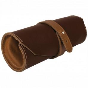 ONLINE Schlamperetui Roll Pouch ECHT LEDER braun