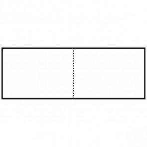 FOLIA Briefkarten DIN A6 quer doppelt 190g weiß 25 Stück