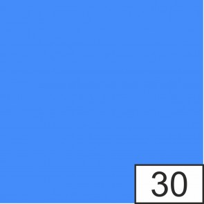 FOLIA Blumenseide 20g 50x70cm 5 Stück blau