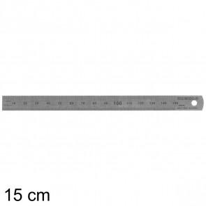 RUMOLD Stahllineal 323701 15cm 1mm und 1/2mm Teilung