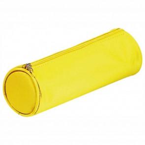 PAGNA Schlampermäppchen Basic rund gelb